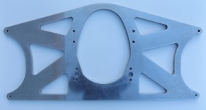 Chevy front engine plate